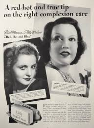 1936 Lux Soap Ad ~ Ethel Merman, Polly Walters, Vintage Health & Beauty Ads