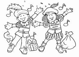 Sinterklaas Kleurplaat Sleutelstad Sleutelstad