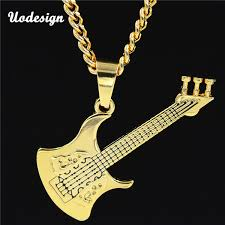 new hip hop gold color guitar