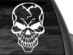 Radioactive Rear Window Decal 12 X12 White Decal