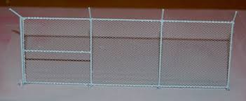 Miniature Wargaming Chain Link Fence Wip