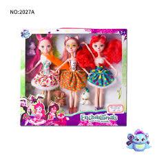3 Uds Muneca Enchantimals De Juguete Para Nina Coleccion Limitada Anime Modelo Pupe Muneca Para Ninas Regalos 27cm Aliexpress
