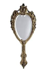 antique silver hand mirror value