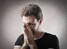 Sad crying man | Premium Photo