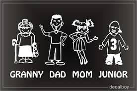Grandparents Decals Stickers Decalboy