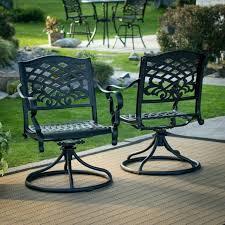 cast aluminum dining chairs