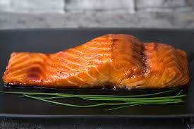 Sake Ginger Glazed Salmon Recipe ...