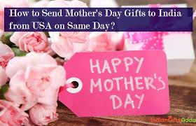 day gifts to india from usa on same day