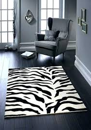 zebra print rug plush zebra grey 9 ft x