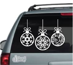 Christmas Decals Stickers Decal Junky