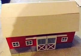 big red barn farm kids toy