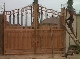 Wrought Iron Gate Designs By Virlibaq In Nigeria