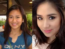 pinay celebrities without make up