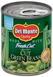 del monte blue lake cut green beans
