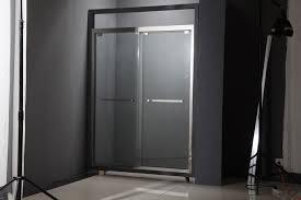 china new fashion tempered glass shower