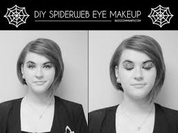 diy spiderweb eye makeup clary sage