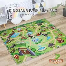 Best Seller Kids Rug Dina Park 47 X 39 Dinosaur World Kids Play Mat Game Rug Children Room Decor Carpet Online Prettytrendyfashion In 2020 Kids Rugs Kids Playmat Kid Room Decor