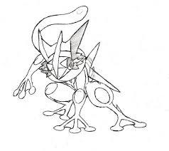Greninja Coloring Pages Of Pokemon Desenho Arthur Desenho Pokemon