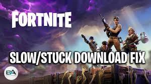 FIX Fortnite Slow/Stuck Download [ SEASON 9 ] ! - YouTube