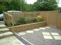 small fences for front gardens garden