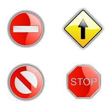 نتیجه تصویری برای علائم راهنمایی و رانندگی