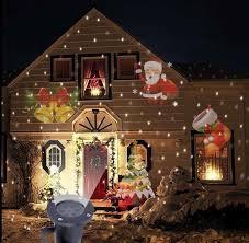 Đèn Led Ông Già Noel Ngoài Trời Máy Chiếu Phong Cảnh Sáng Chống Nước Disco  Đèn Khu Vườn Nhà Trang Trí Ngoài Trời - Aliexpress