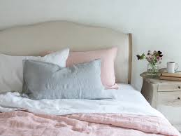piece dyed linen bedding