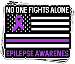 Amazon Com Snoopdy 3 Pcs Stickers Epilepsy Awareness Day 3x4 Inch Die Cut Vinyl Decals For Laptop Window Car Bumper Helmet Water Bottle Kitchen Dining
