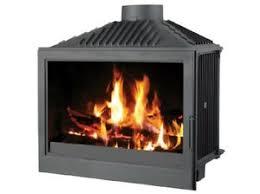 fireplace insert inset wood burning