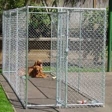 China Professional Customized Galvanized Cheap Chain Link Dog Kennels Large Dog Fence China Dog Kennel Wholesale And Dog Kennel Panels For Sale Price