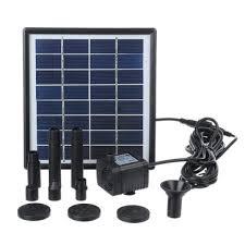 fountain submersible solar water pump