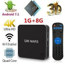 X96 Smart Android 7.1 TV Box 8GB Amlogic S905W Quad Core WiFi LAN+ ...