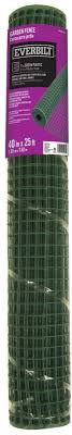 Garden Fence Everbilt 1 In X 3 3 X 25 Ft Green Plastic Hardware Cloth Fencing For Sale Online Ebay