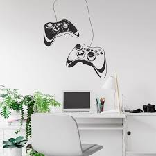 Gaming Controller Wall Decal Xbox Game Controller Wall Etsy Gamer Room Decor Gamer Room Wall Decal Game Room