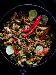 canned mackerel fish stir-fry(Sri ...