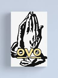 6 God Ovo Drake Sticker Canvas Print By Zatchdesigns Redbubble