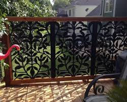Mobile Decorative Screen Panels Garden Fence Panels Privacy Fence Designs