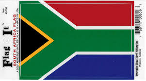 South Africa Flag Car Decal Sticker The Cultural Exchange Shop Apparel Gifts