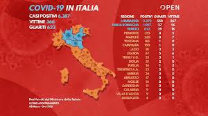 Coronavirus, il giorno più duro: 133 decessi, quasi 1500 nuovi ...