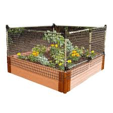 Frame It All 48 In X 24 In X 48 In Stainless Steel Stack And Extend Animal Barrier 300001003 The Home Depot