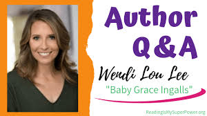 Wendi Lou Lee - Q&A - Giveaway - Reading Is My SuperPower