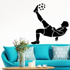 Exquisite Football Soccer Fc Wall Stickers Kids Rooms Wallpaper Sticker Football For Boys Room Decor Wall Decal Mural Wall Stickers Aliexpress