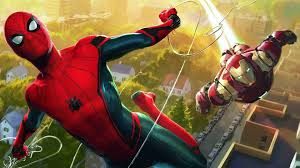 iron man and spider man wallpapers
