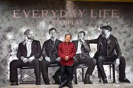 Image result for everyday life coldplay album cover
