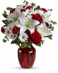 be my love bouquet with red roses in