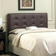 leather king headboard black leather