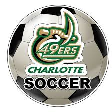 North Carolina Charlotte Forty Niners 4 Inch Round Soccer Ball Vinyl Decal Sticker Walmart Com Walmart Com