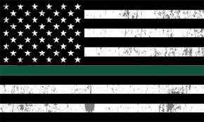 Thin Green Line Thank You Usa Flag Car Decal Window Bumper Sticker Support For Army Military