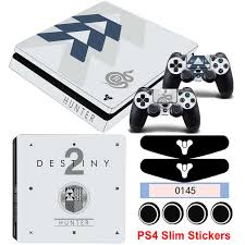 Ps4 Slim Sticker Game Destiny 2 Stickers For Playstation 4 Slim Console Controller Vinyl Skin Decals Dust Proof Protector Stickers Aliexpress