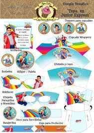 Accesorios De Fiesta De Cumpleanos Con Motivos De Topa Junior